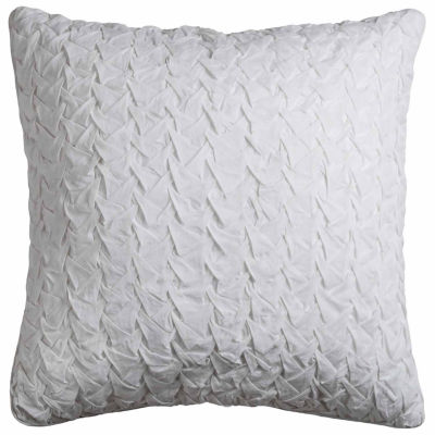 Rizzy Home Noah Textured Solid Decorative Pillow