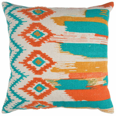 Rizzy Home Isaac Abstract Stripe Decorative Pillow