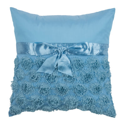 Rizzy Home Elijah Floral Pattern Filled Pillow