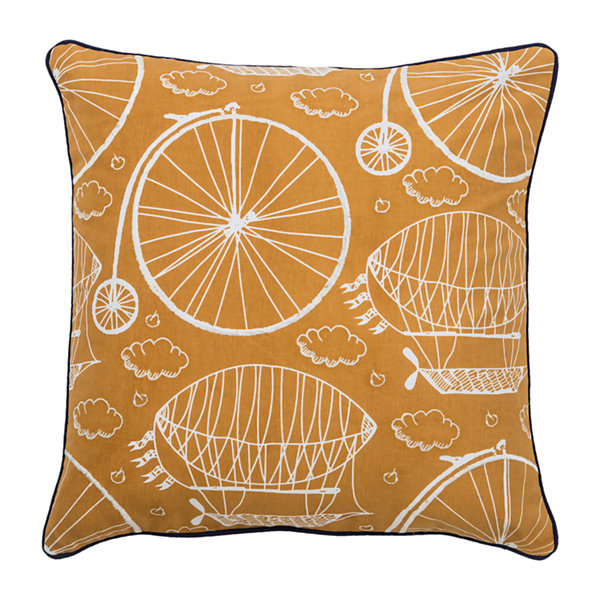 Rizzy Home Hudson Novelty Pattern Filled Pillow