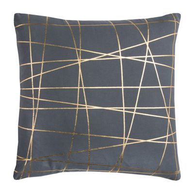 Rachel Kate By Rizzy Home Elijah Abstract Pattern Filled Pillow