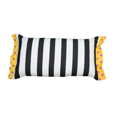 Rachel Kate By Rizzy Home Jaxon Stripe Pattern Filled Pillow