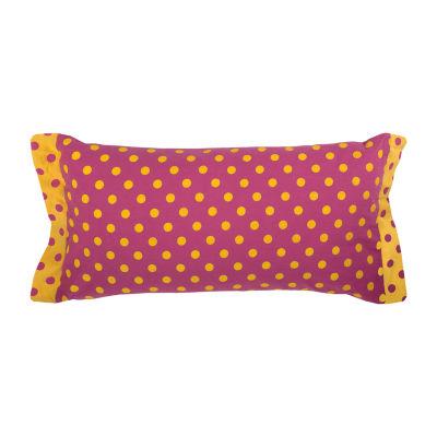 Rachel Kate By Rizzy Home Landon Polka Dots Pattern Filled Pillow