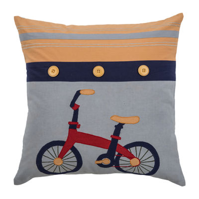Rizzy Home Austin Novelty Pattern Filled Pillow
