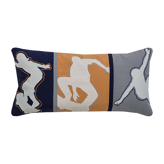 Rizzy Home Brandon Novelty Pattern Filled Pillow
