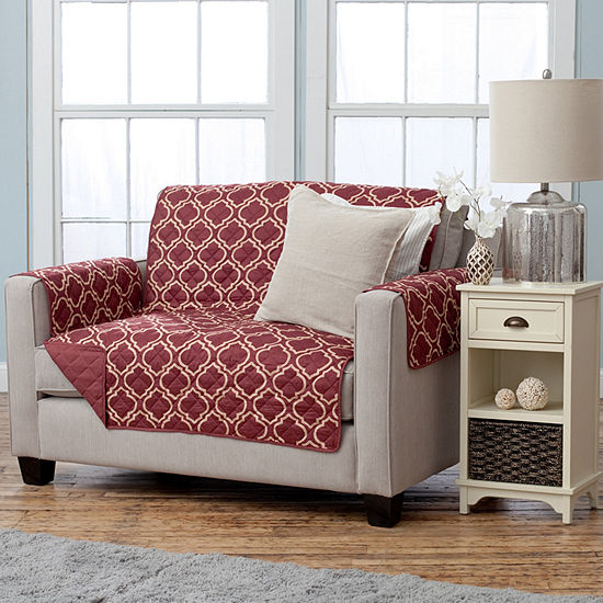 Adalyn Collection Deluxe Reversible Quilted Loveseat Protector