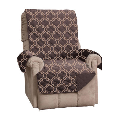 Adalyn Collection Deluxe Reversible Quilted Recliner Protector