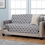 Adalyn Collection Deluxe Reversible Quilted Sofa Protector