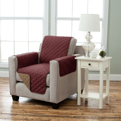 Deluxe Reversible Quilted Chair Protector
