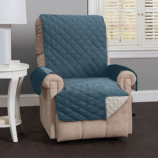 Deluxe Reversible Quilted Recliner Protector