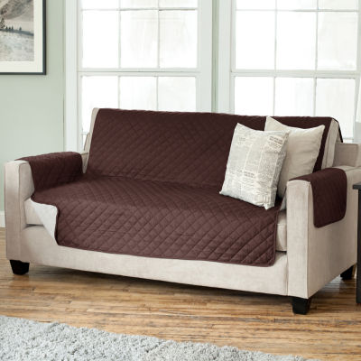 Deluxe Reversible Quilted Sofa Protector