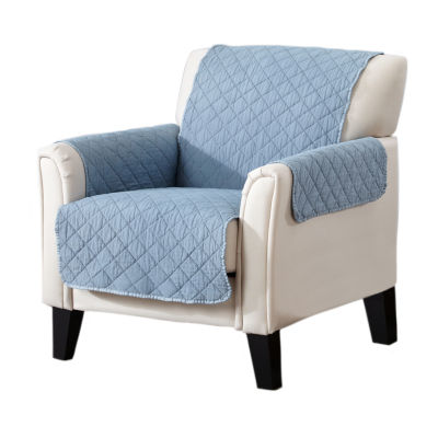 Deluxe Stonewashed Quilted Chair Protector