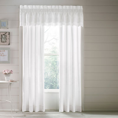 Queen Street Lola 2 Pair Rod-Pocket Curtain Panels