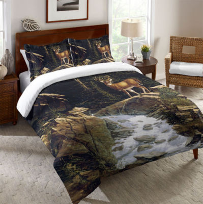 Laural Home Above the Falls Duvet Cover