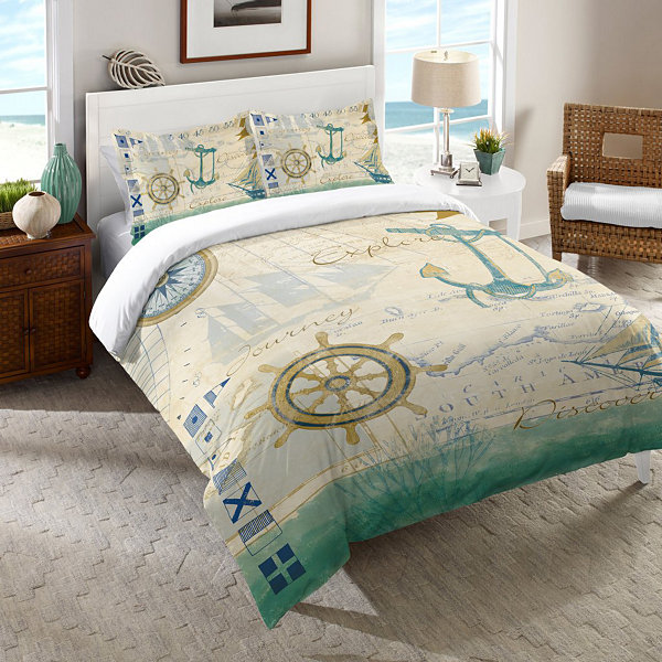 Laural Home Mariner Sentiment Comforter
