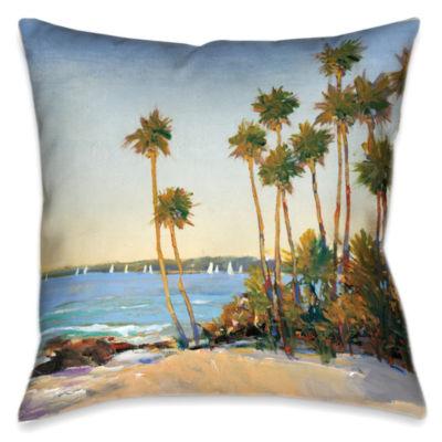 Laural Home Distant Shore Decorative Pillow