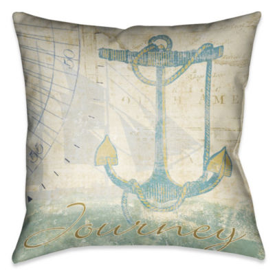 Laural Home Mariners Sentiment III Decorative Pillow