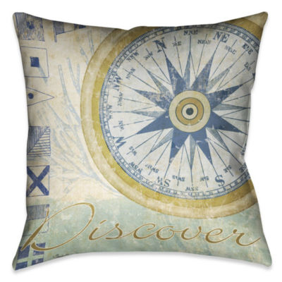 Laural Home Mariners Sentiment IV Decorative  Pillow