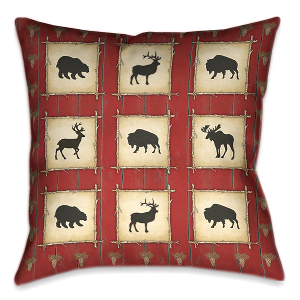 Laural Home Red Lodge Decorative Pillow