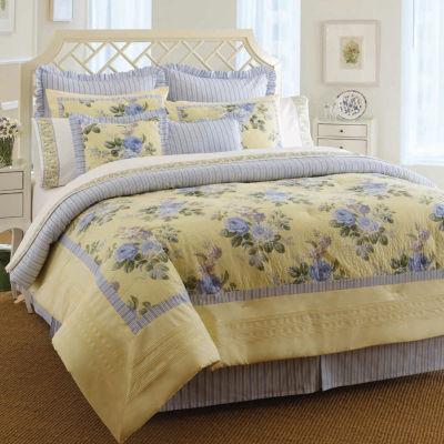 Laura Ashley Caroline Yellow Comforter Set