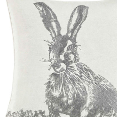 Laura Ashley La Bunny Square Pillow