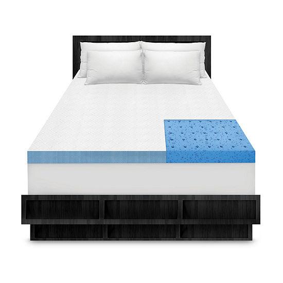 """SensorPEDIC® Cooling Comfort 4"""" Memory Foam Topper"""