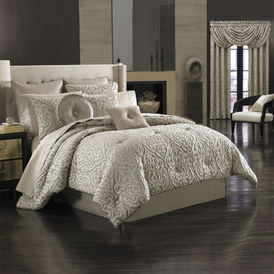 Queen Street Antonia 4-pc. Jacquard Comforter Set