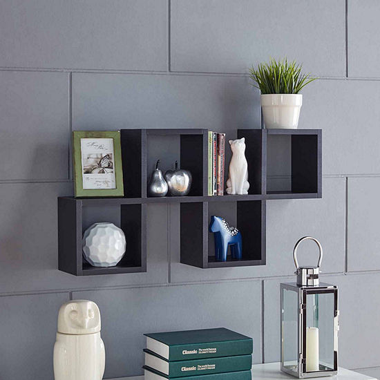 Danya B. Cubby Chessboard Wall Shelf
