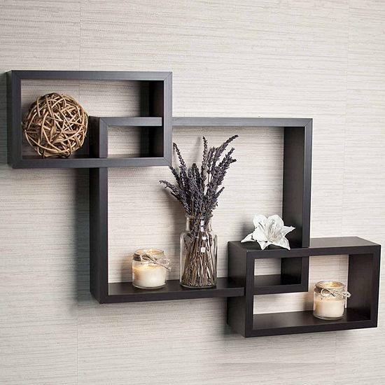 Danya B. Intersecting Wall Shelf