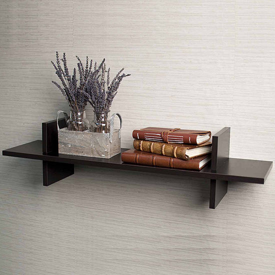 "Danya B. Decorative ""H"" Shaped Wall Shelf"