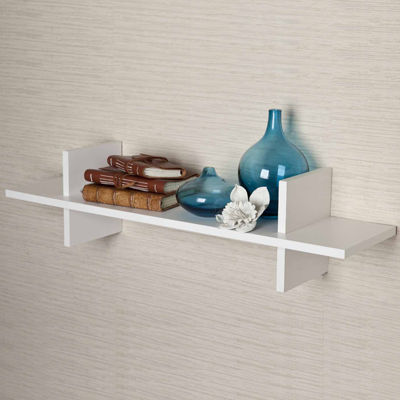 "Danya B. Decorative ""H"" Shaped Wall Shelf"""