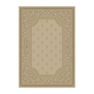 Concord Global Trading Imperial Collection Fleur De Lys Area Rug