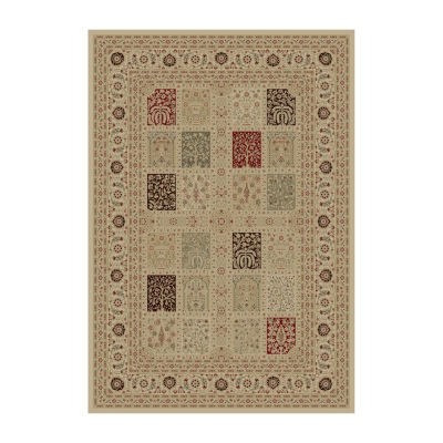 Concord Global Trading Imperial Collection Magnificent Panel Area Rug