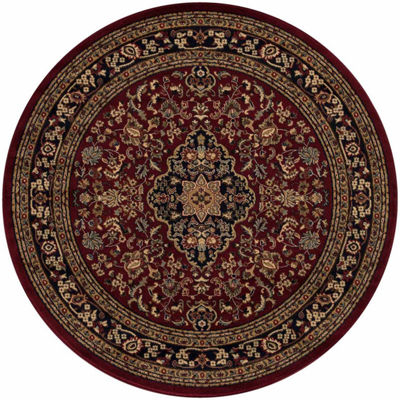 Concord Global Trading Jewel Collection Heriz Round Area Rug