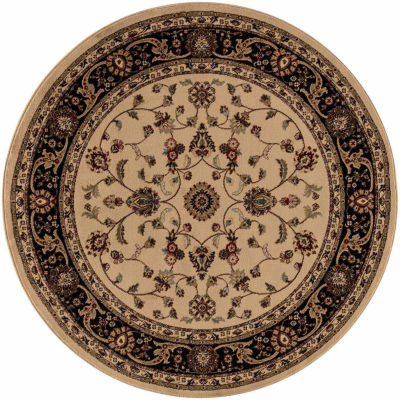 Concord Global Trading Jewel Collection Marash Round Area Rug