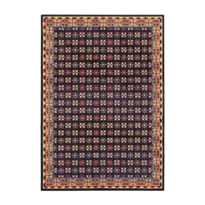 Covington Home Wanderlust Flowers Rectangular Rugs