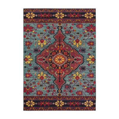 Covington Home Wanderlust Royal Rectangular Rugs