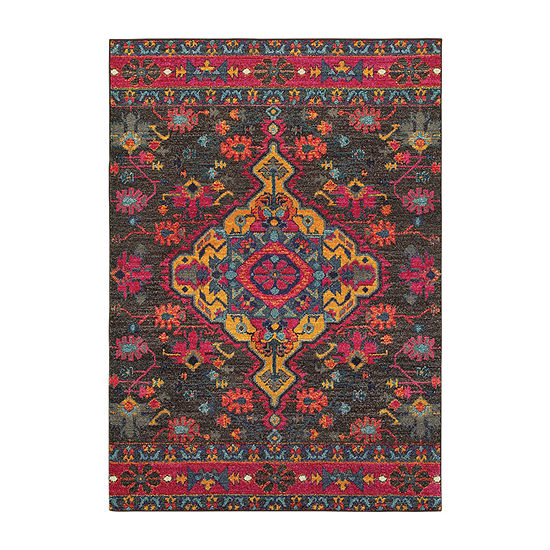 Covington Home Wanderlust Royal Rectangular Indoor Rugs