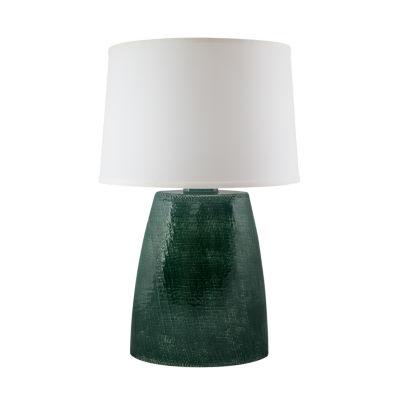 River Ceramic Burlap Ceramic Table Lamp