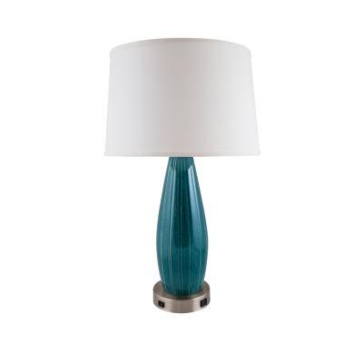River Ceramic Stream Line Ceramic Table Lamp