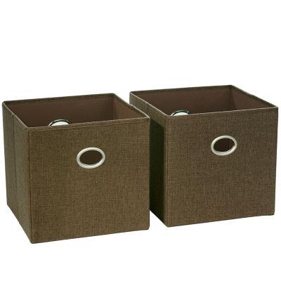River Ridge Home 2-pc. Folding Storage Bin Set