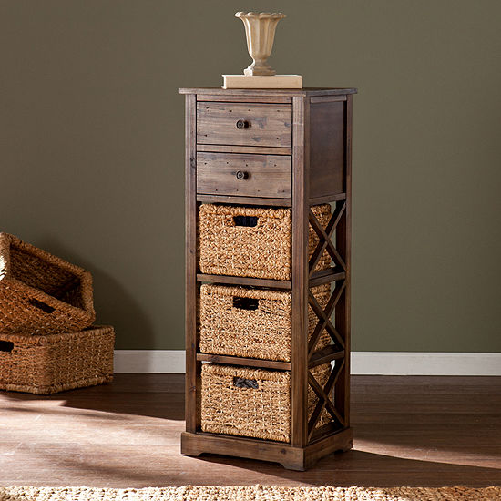 Home Décor Collections Basket Storage Tower