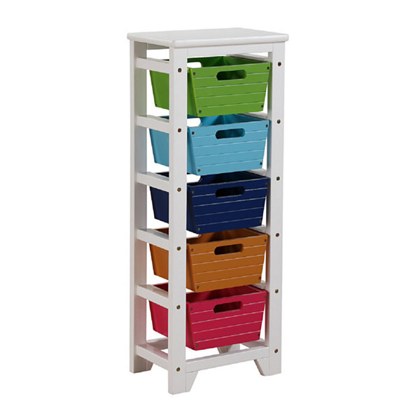 Darvin Storage Rack with 5 Baskets