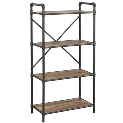 4 Tier Metal Pipe Etagere