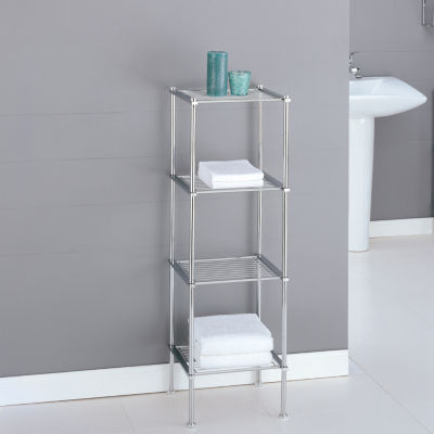Organize It All The Metro Collection 4-Tier Shelf