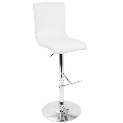 Spago Contemporary Adjustable Barstool by LumiSource