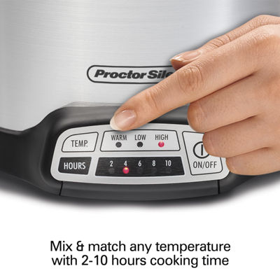 Proctor-Silex® 4-Quart Programmable Slow Cooker