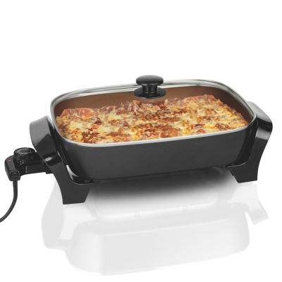 Hamilton Beach® Deep Dish Ceramic Electric Skillet