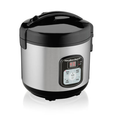Hamilton Beach® 8-Cup Programmable Rice Cooker and Steamer
