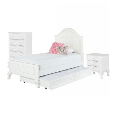 Picket House Furnishings Jenna Panel with Trundle 3-pc. Bedroom Set